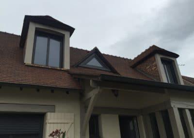 La Miroiterie Yerroise- menuiserie - fenetre aluminium avec volet roulant encastré - Rénovation fenêtres Yerres - Brunoy - Montgeron / Essonne