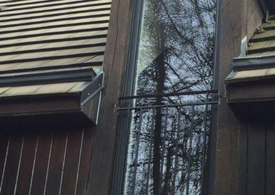 Création d'une baie vitrée par la Miroiterie Yerroise. Rénovation fenêtres Yerres - Brunoy - Montgeron / Essonne